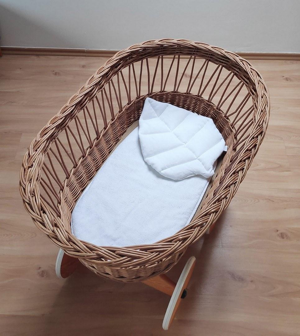 White Leaf Pillow