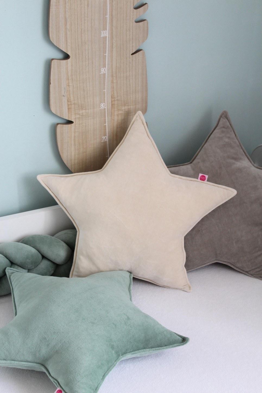 Light Beige Star Children's Cushion