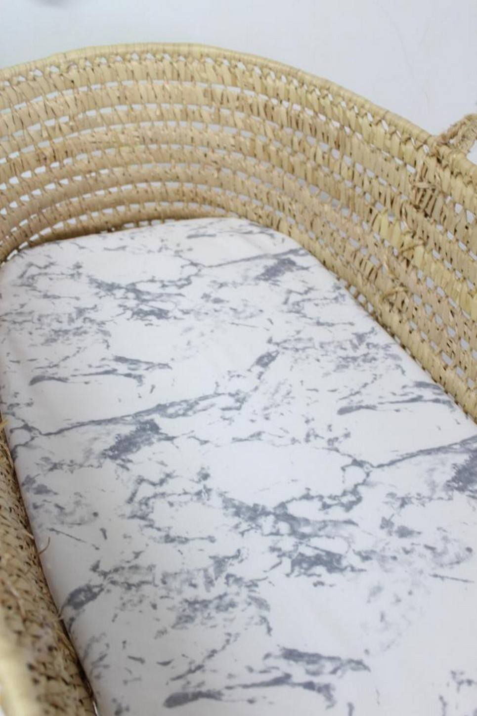 Marble Fitted Crib Sheet