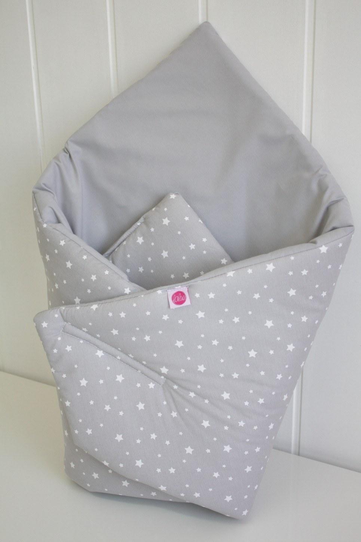 Small Stars On Gray Baby Horn