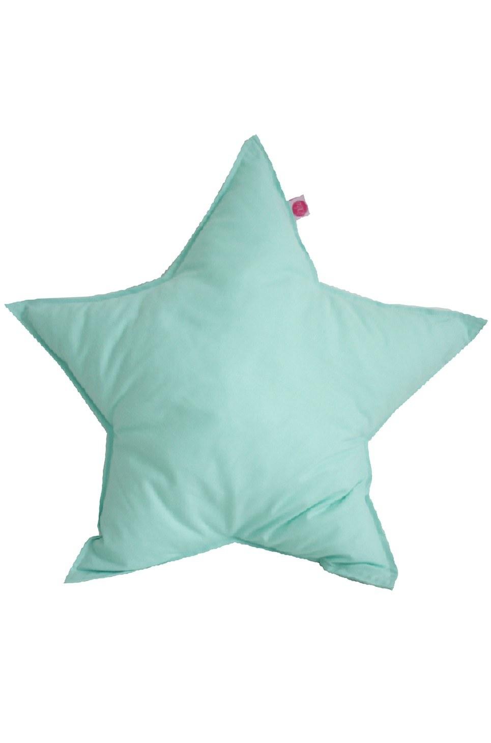 Turquoise Star Children's Cushion