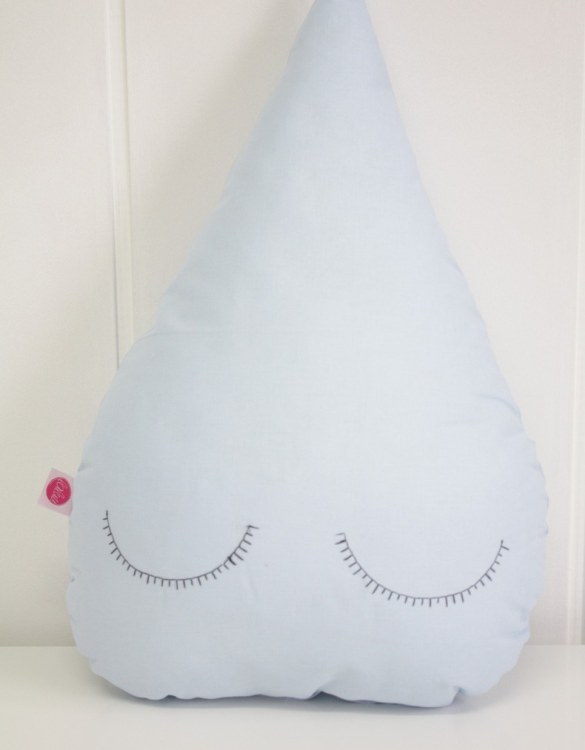 Perfect to bring the child inside everyone, the Blue Droplet Children's Cushion will add that pop of colour into any kid's bedroom or nursery!