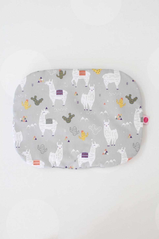 Llama Baby Flat Head Pillow