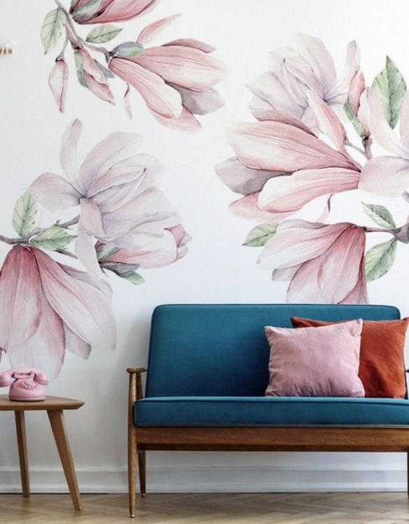A beautiful scene for children's rooms and nurseries, the Natura Magnolies Children's Wall Sticker is the perfect addition to any empty space (like walls or furniture). These wall stickers provide a flexible and cost-effective way to decorate your home.