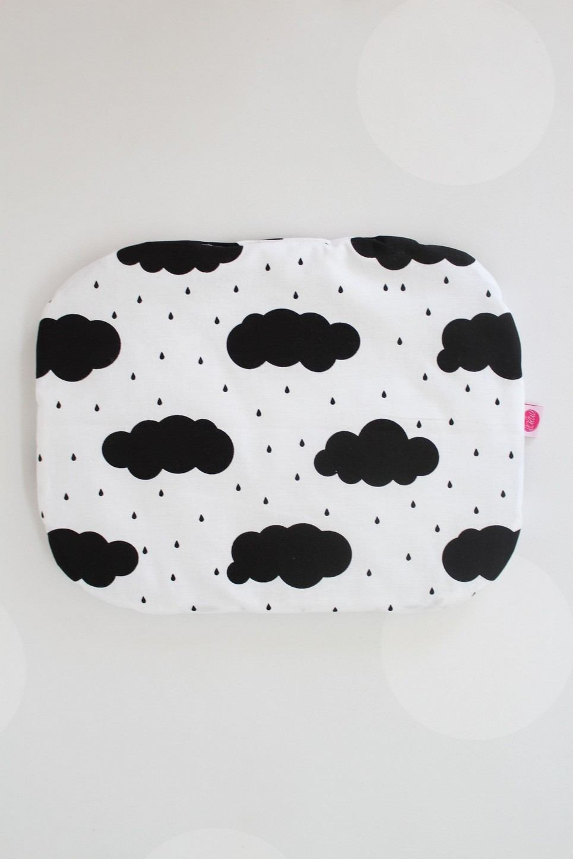Rain Clouds Baby Flat Head Pillow