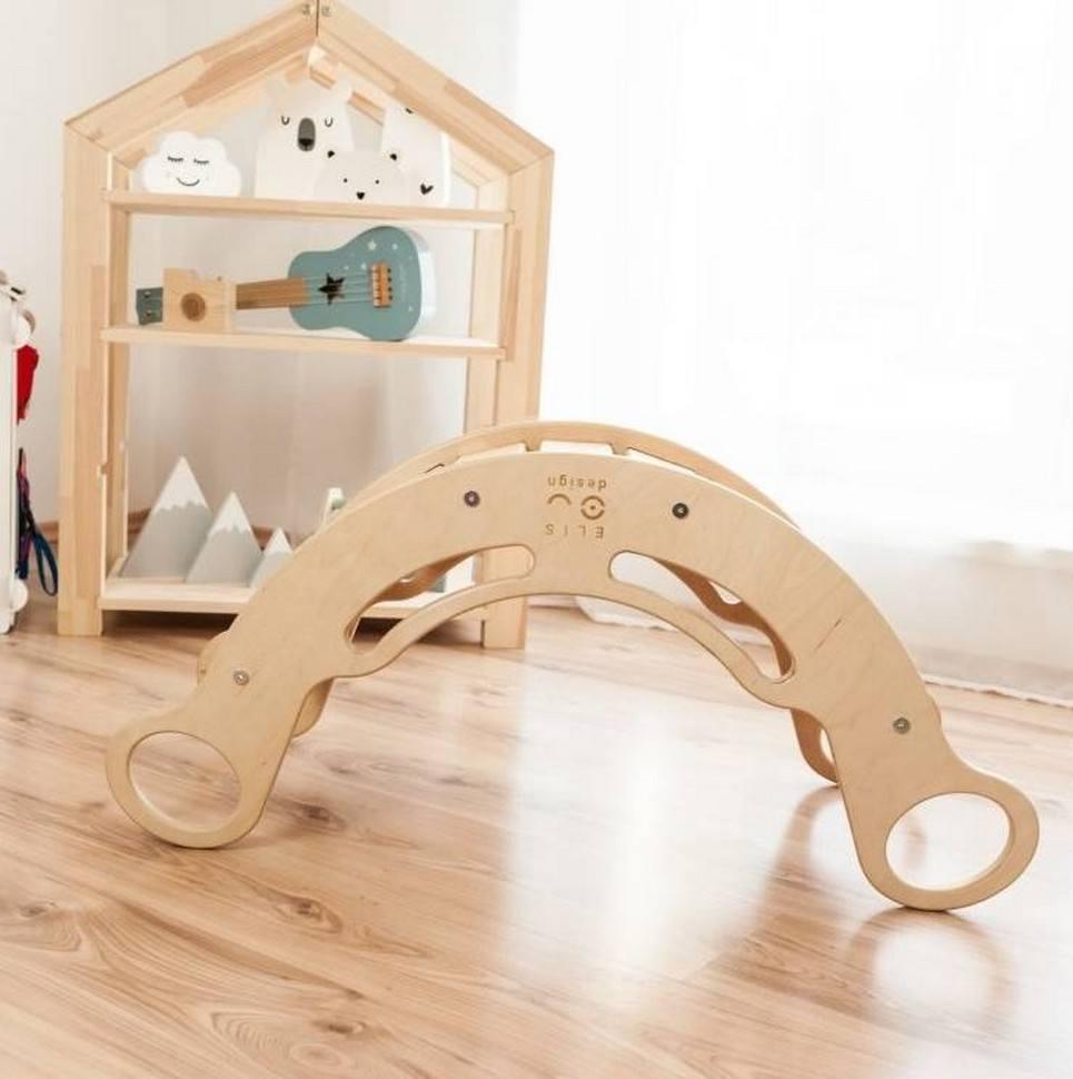5in1 Natur with White Montessori Balance Board – 4