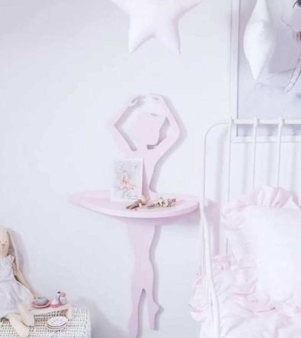 Ballerina Children's Wall Shelf