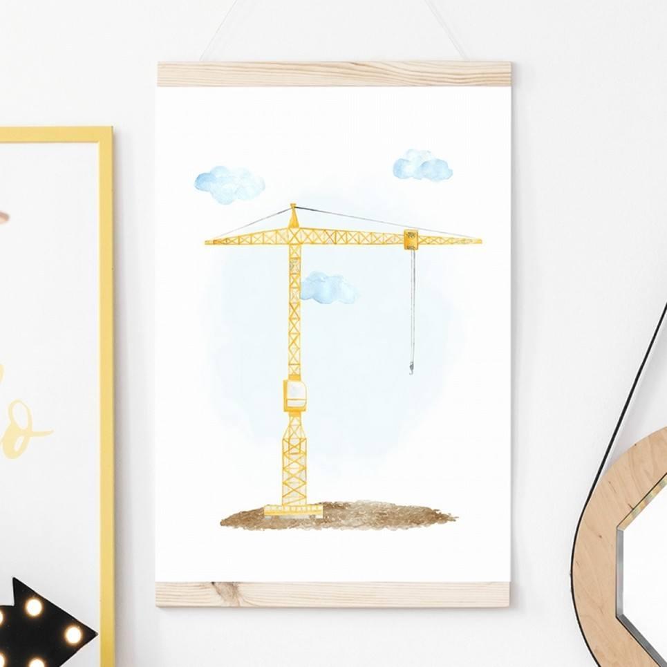 Crane Children's Poster