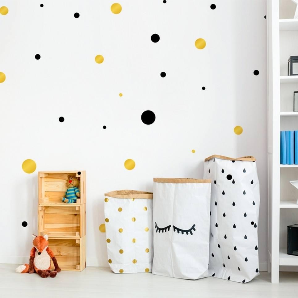Dots 2 Colours Children's Wall Sticker
