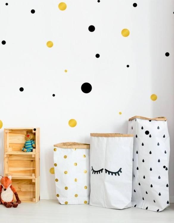A beautiful scene for children's rooms and nurseries, the Dots 2 Colours Children's Wall Sticker is the perfect addition to any empty space (like walls or furniture). These wall stickers provide a flexible and cost-effective way to decorate your home.