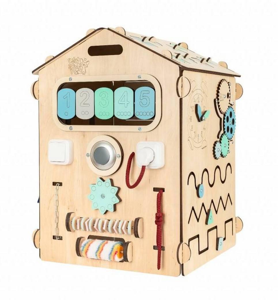 Little House For Boys Activity Board