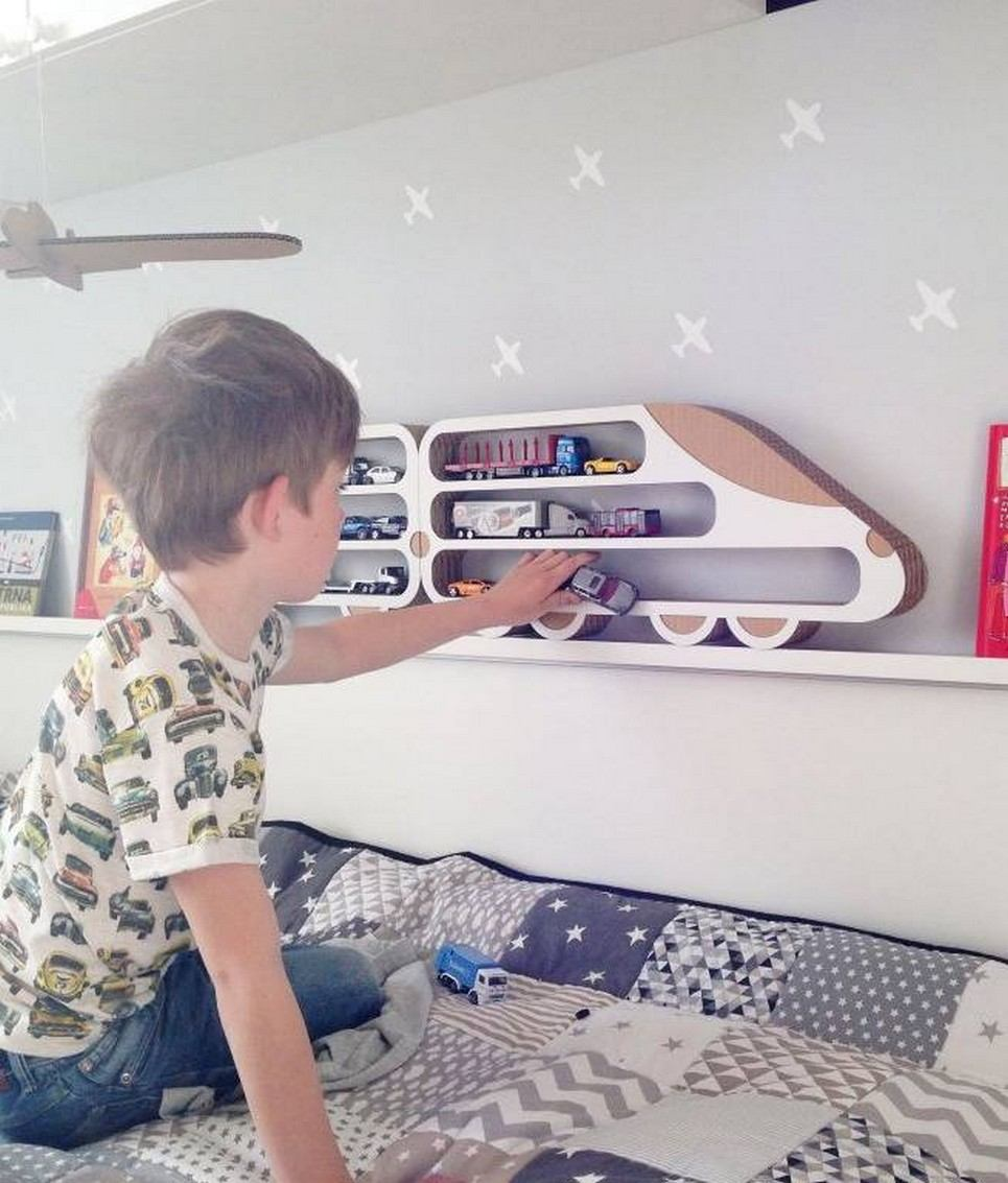 Lokomotiva Children's Wall Shelf