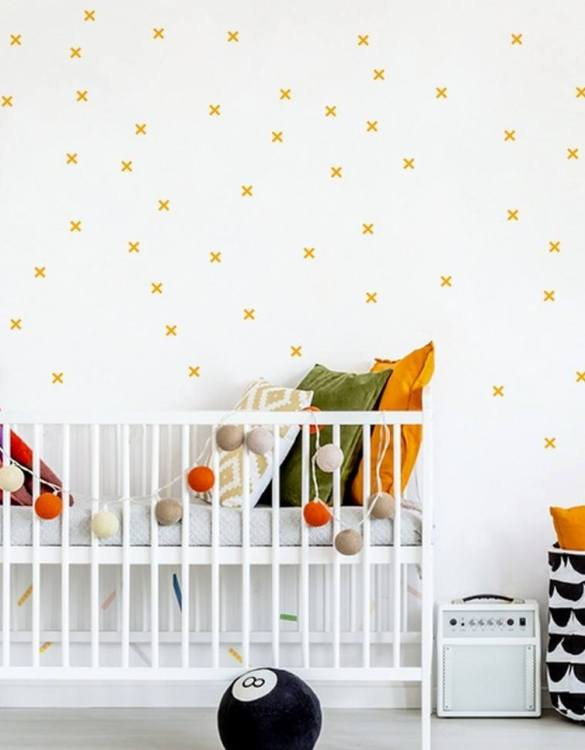 A beautiful scene for children's rooms and nurseries, the Pastel Small Pluses Children's Wall Sticker is the perfect addition to any empty space (like walls or furniture). These wall stickers provide a flexible and cost-effective way to decorate your home.