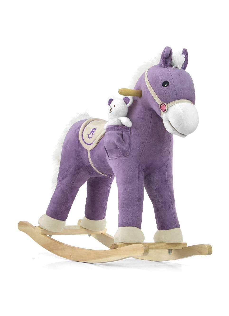 Purple Children's Rocking Horse