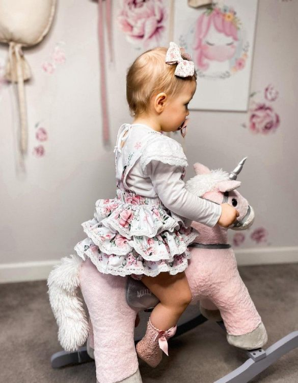 Safe for all ages 18 months and up, the Unicorn Pink Children's Rocking Horse is certainly an original accessory that all your friends will envy your child. This beautiful wooden rocking toy is a lovely and unusual gift that will be enjoyed now and by future generations.