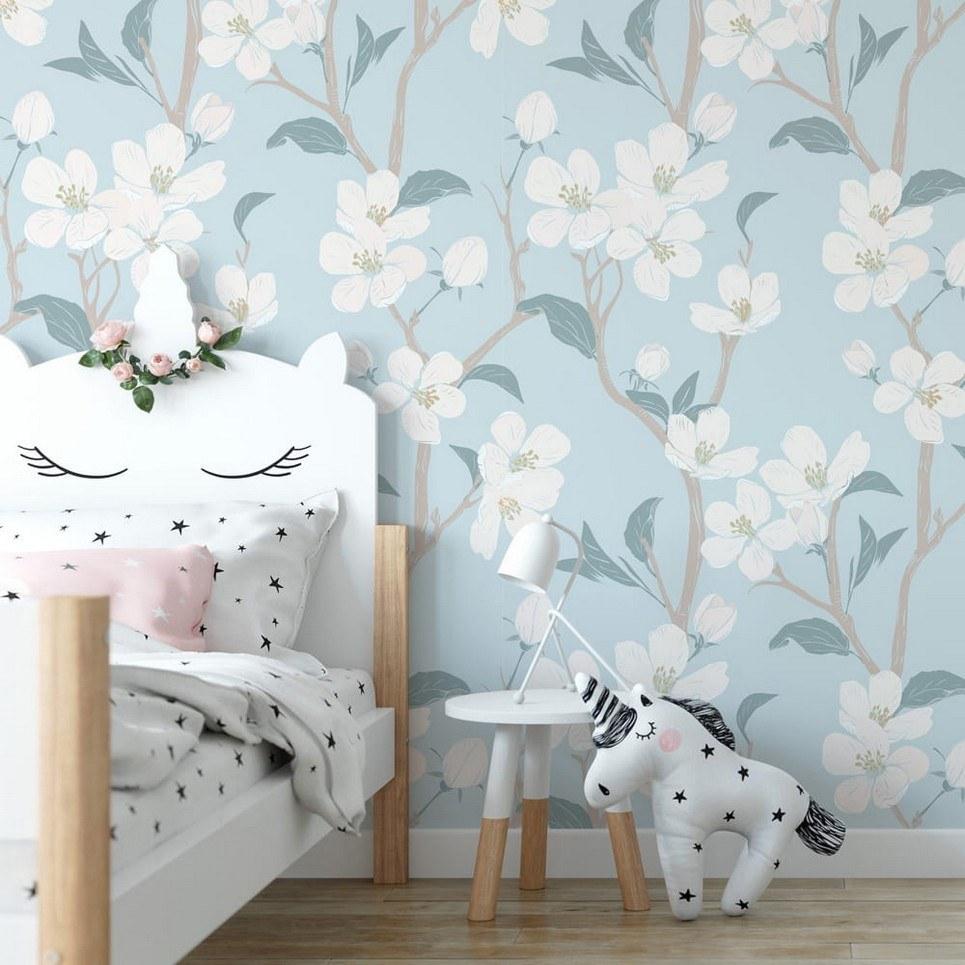 Cherry Blossoms Children's Wallpaper