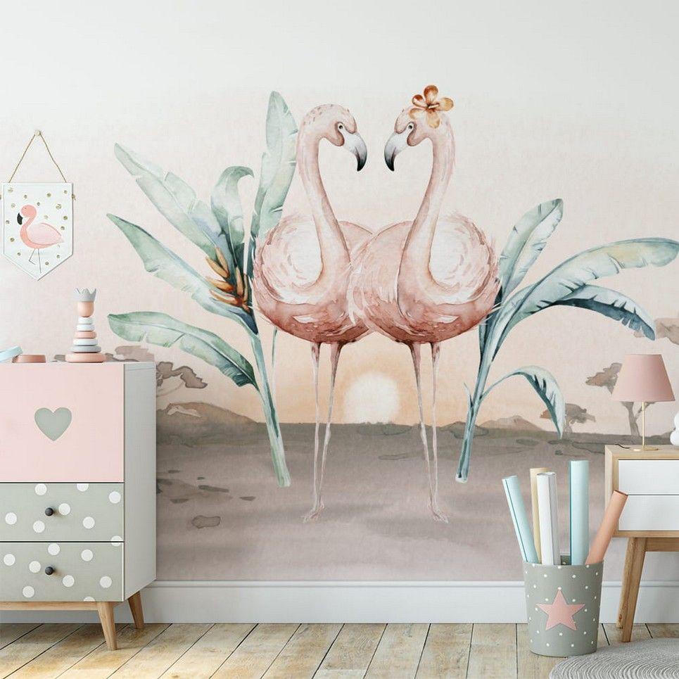 Jungle and Friends Children's Wallpaper