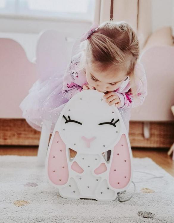 A must-have element of the decor of a child's room, the Rabbits Wooden Lamp for Children will soon become your child's favourite part of their bedtime routine and will help make their bedroom feel extra safe and cosy.