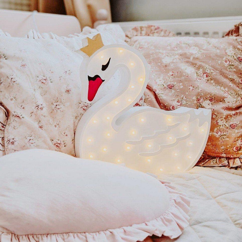 Swan Wooden Lamp for Children