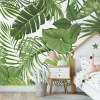 Sure to be adored by little ones, the Tropical Leaves Children's Wallpaper is a fun addition to any nursery or playroom. Go on an adventure with our kid's wallpaper for children's rooms! A well-chosen pattern can visually enlarge the interior.