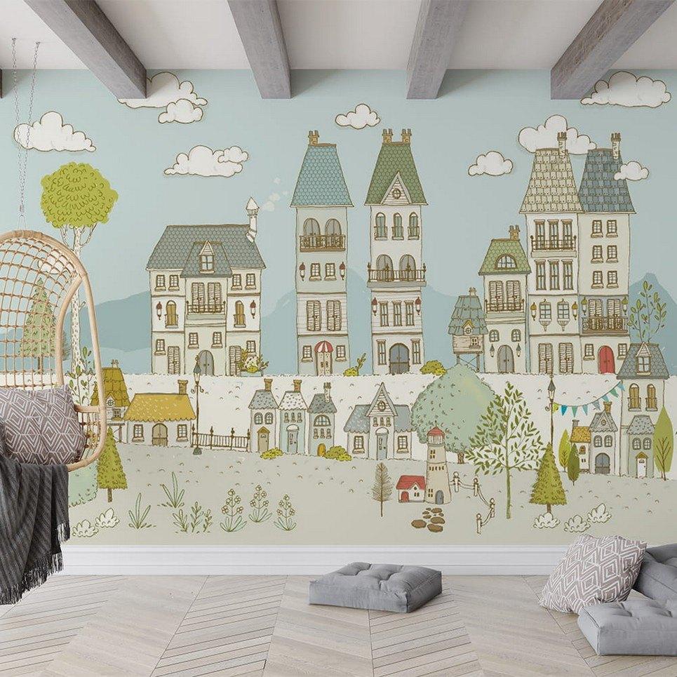 City Children's Wallpaper