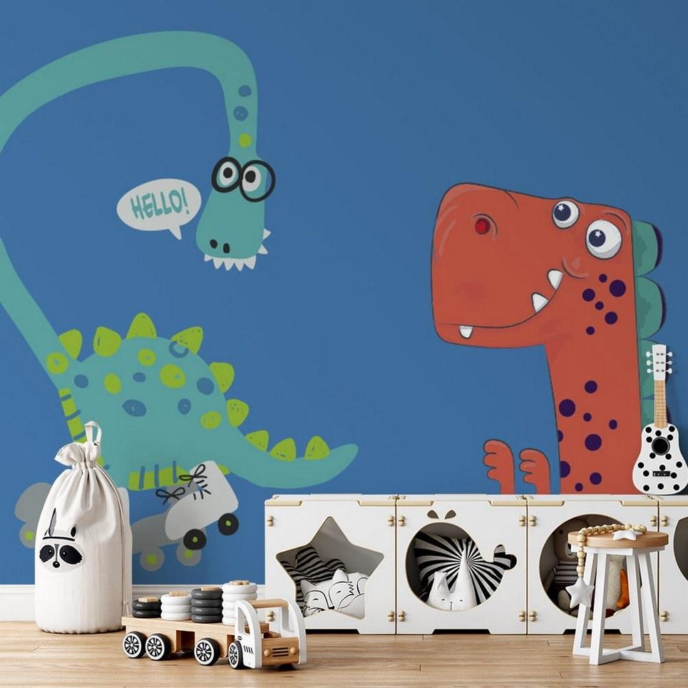 Dinosaurs 3 Children's Wallpaper