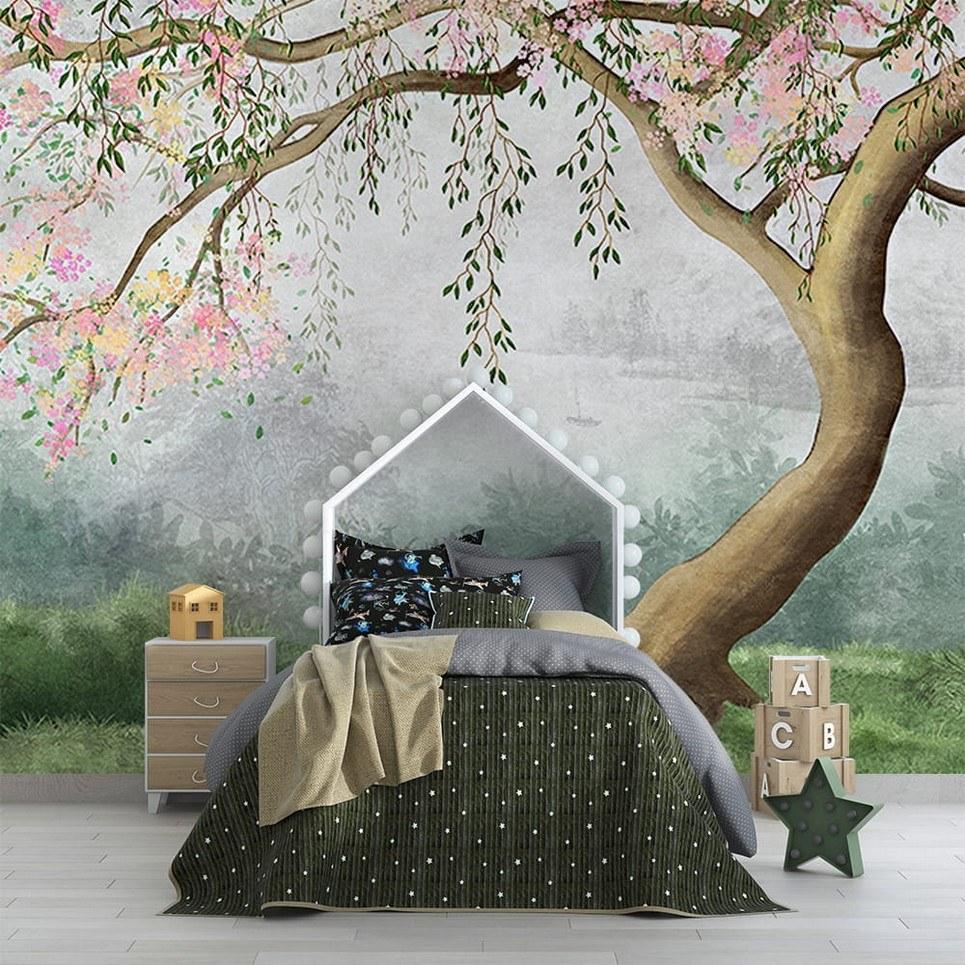 Japanese Garden Children's Wallpaper