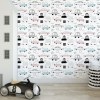 Sure to be adored by little ones, the Retro Cars Children's Wallpaper is a fun addition to any nursery or playroom. Go on an adventure with our kid's wallpaper for children's rooms! A well-chosen pattern can visually enlarge the interior.