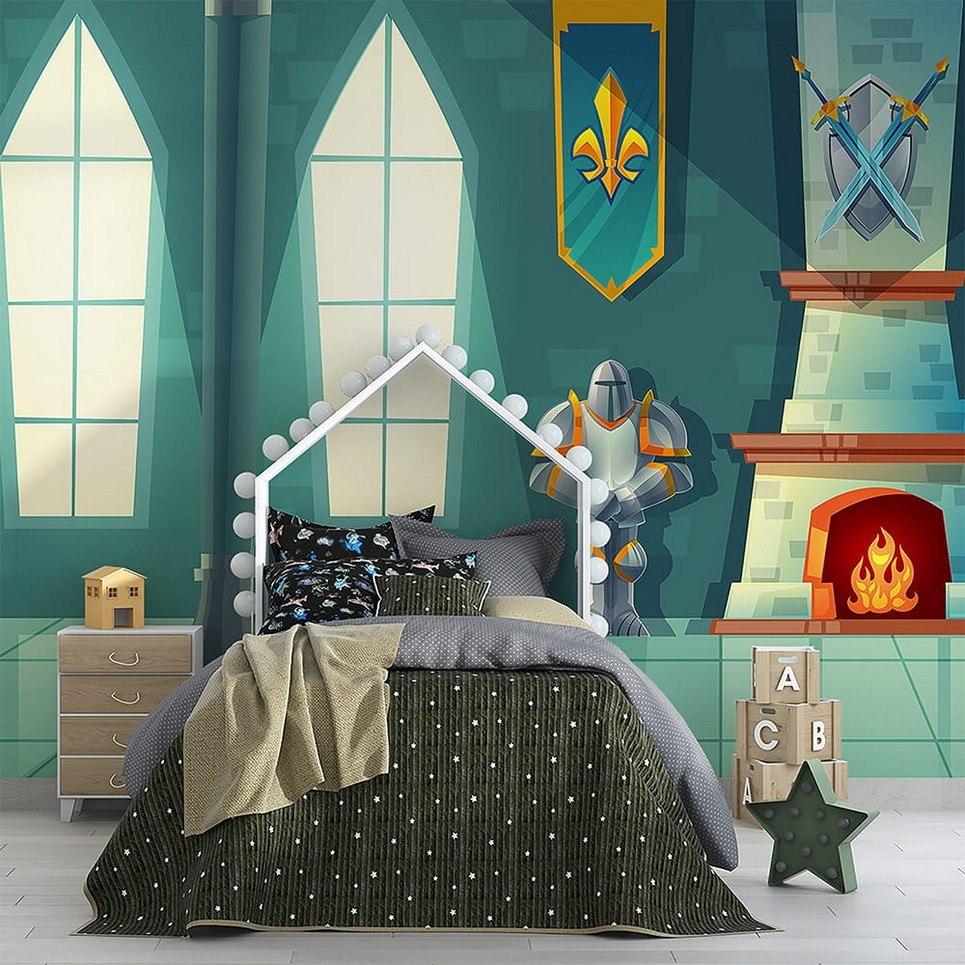 Rycersk Room Children's Wallpaper