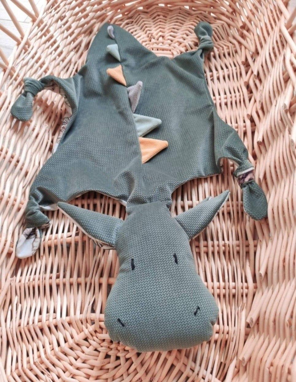 Green Dragon Doudou Baby Comforter