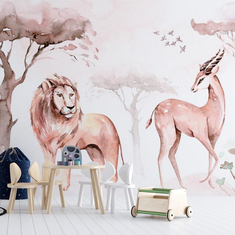 Jungle and Friends 14 Children's Wallpaper
