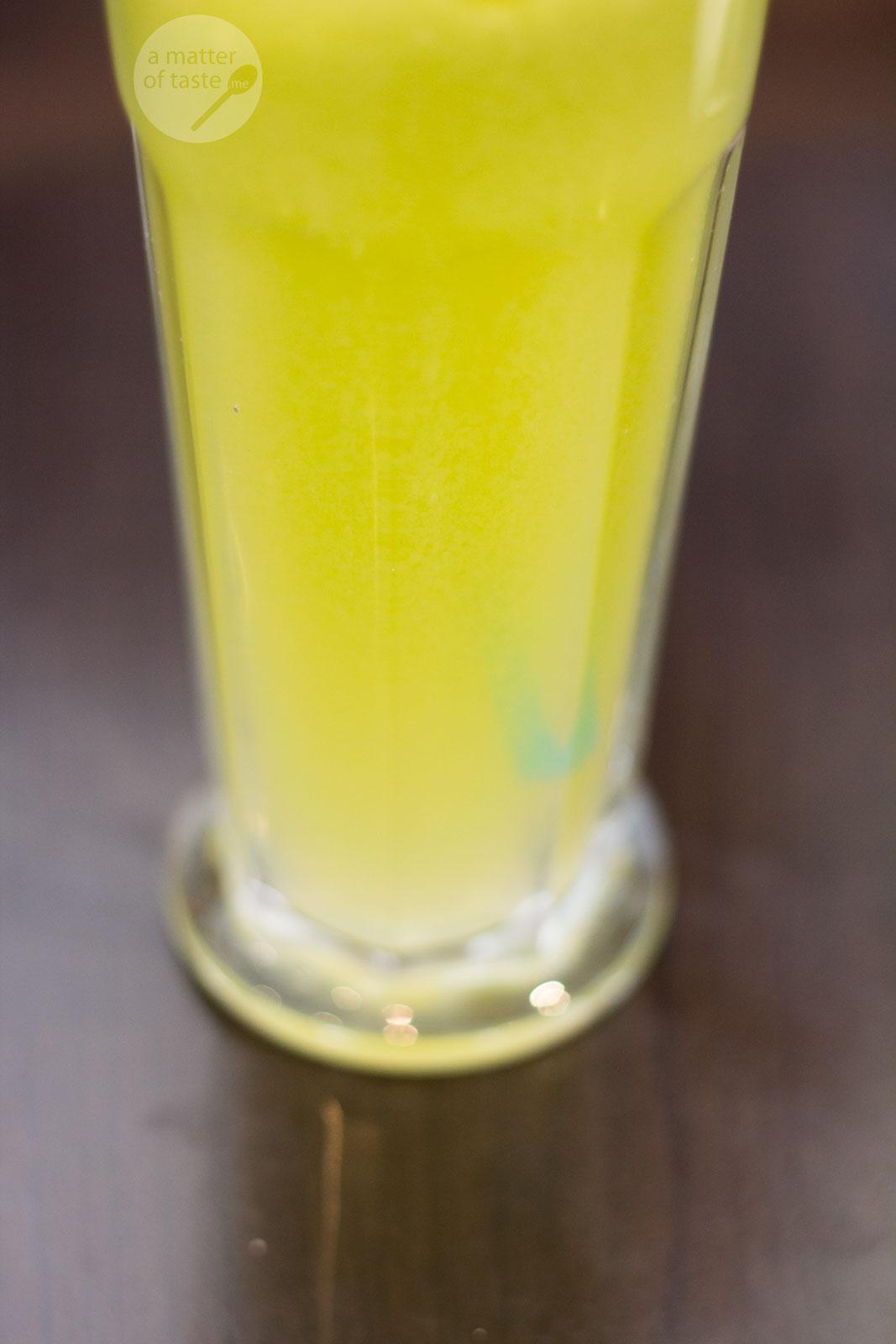 Double Shot New Farm apple juice