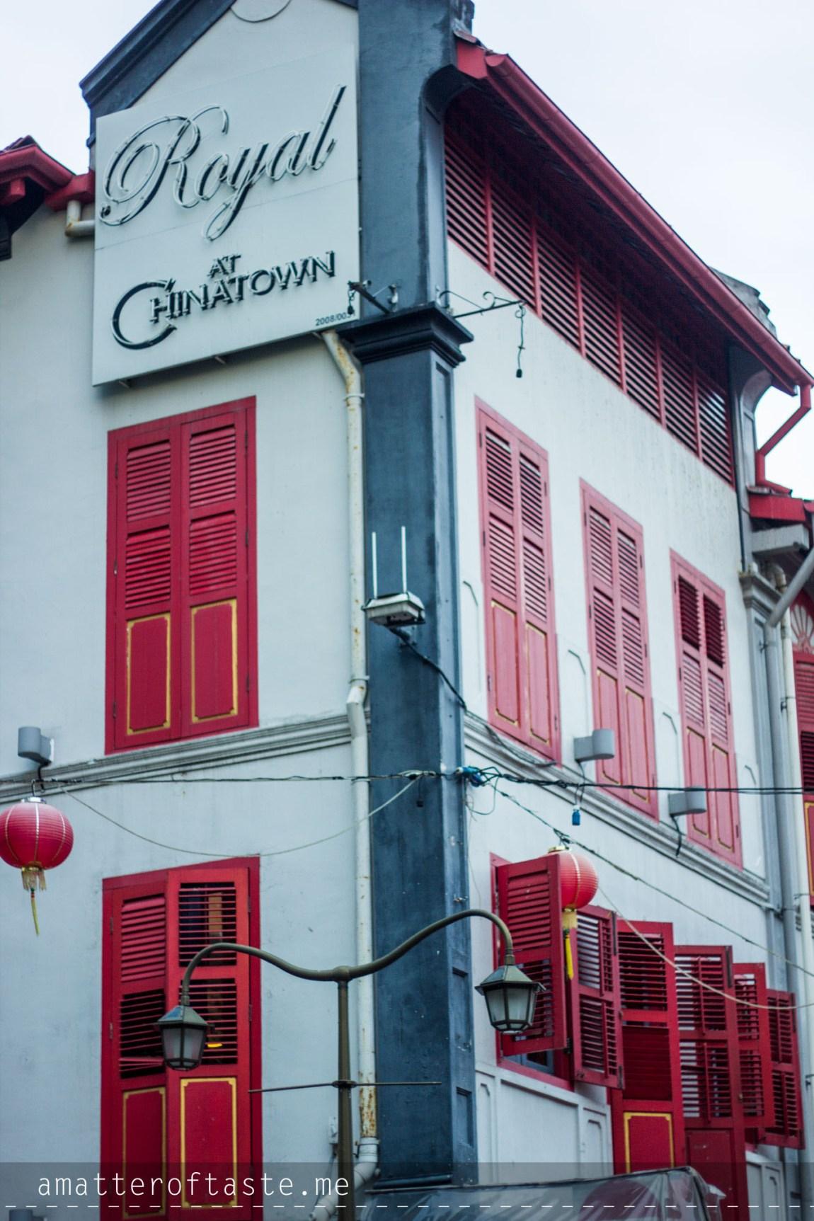 Singapore colours