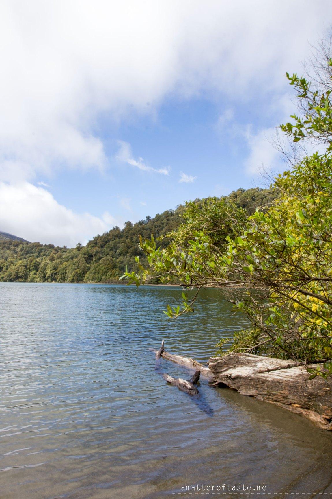 Tongariro - Lake Rotopounamu