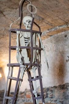 Bardi Castle skeleton