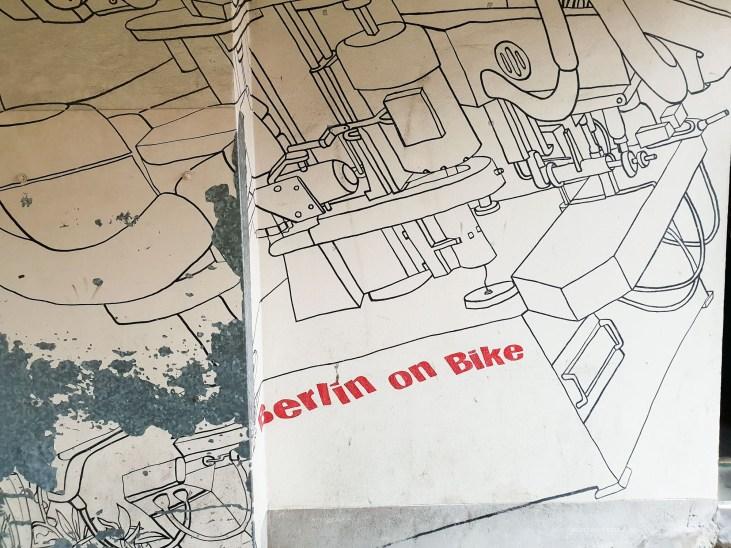 Berlin bikes street art