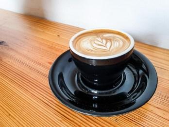 Bianchi - best coffee in Madrid list - flat white