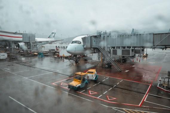 Cathay Pacific CX134 Hong Kong