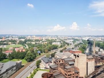 Dolni Vitkovice bolt tower Ostrava view