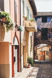 Dozza typical street