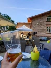 Estonia road trip - backyard bbq with live music