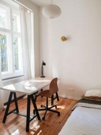 Friedrichshain Berlin apartment desk