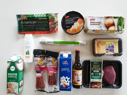 Groceries in Tallinn