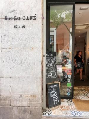 Hanso - best coffee in Madrid list