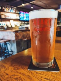 The most beautiful and perfectly poured pint of cold IPA.