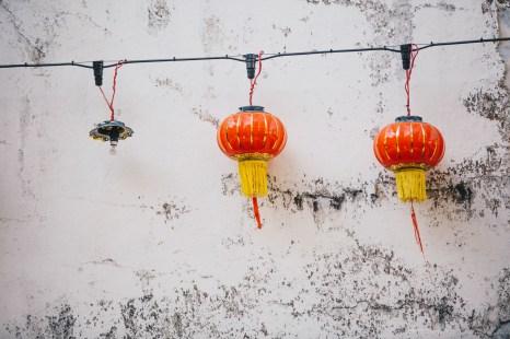 Ipoh photo ops street lanterns