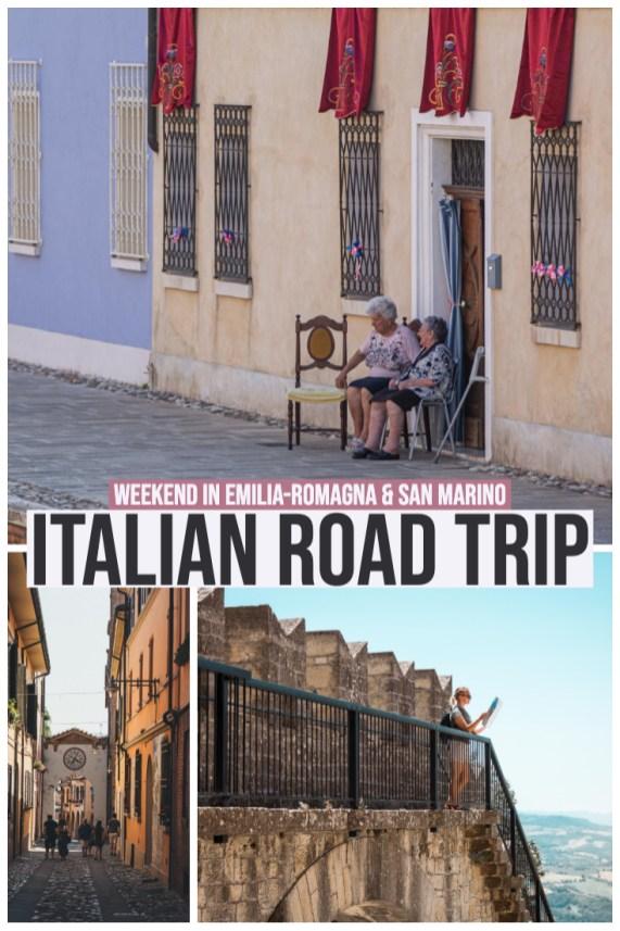Italian Road Trip weekend in Emilia-Romagna & San Marino