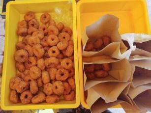 KL Malaysia street food potato donuts