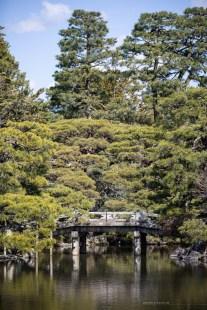 Kyoto Imperial Palace bridge