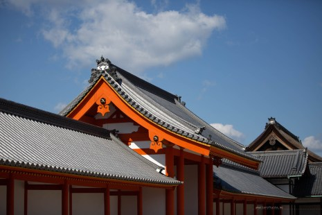 Kyoto Imperial Palace roofs